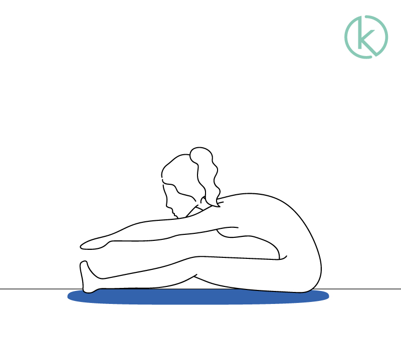 Infografik Übungen um die Halswirbelsäule nach einem Bandscheibenvorfall zu mobilisieren