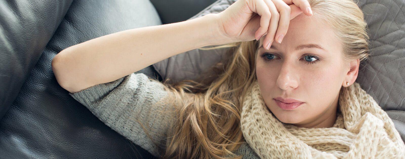Frau fühle sich aufgrund einer Autoimmunerkrankung schwach
