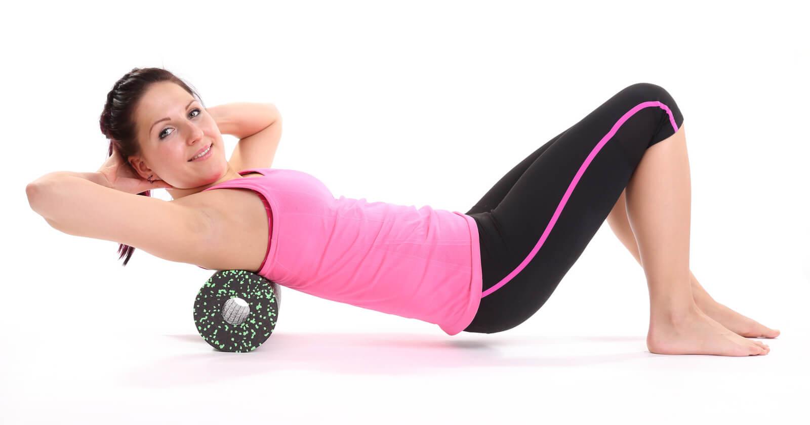 Faszienrolle richtig einsetzen - Übungen mit Anleitung & Tipps