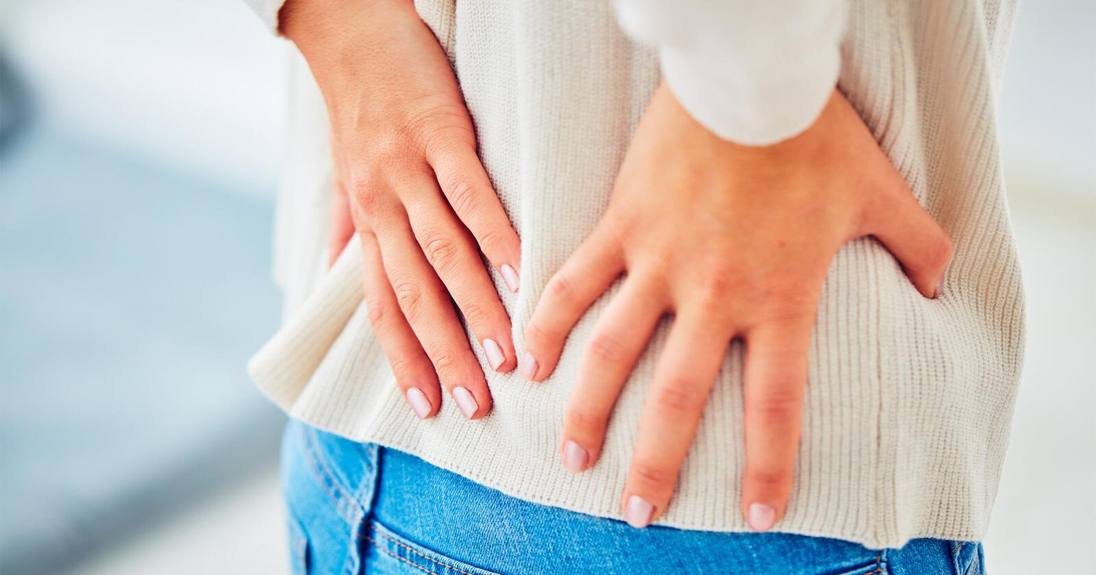 Rückenschmerzen während der Menstruation - Ratgeber Nerven